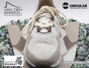 Umweltfreundlicher, recycelbarer Schuh