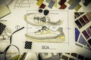 Design und Entwicklung von Schuhen